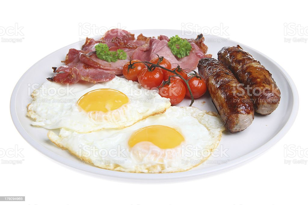 English Cooked Breakfast royalty-free stock photo
