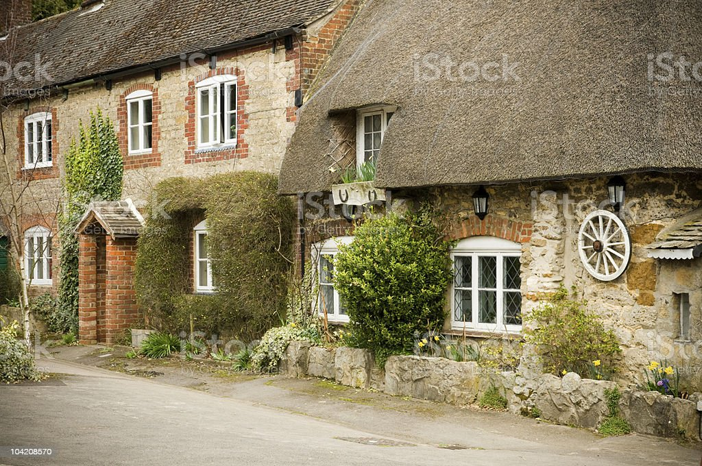 english cottage royalty-free stock photo