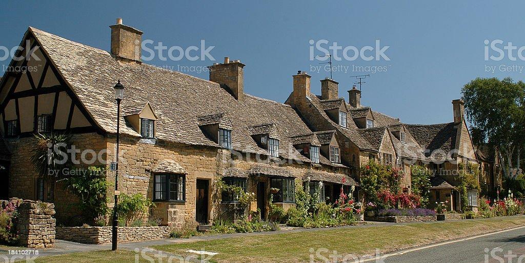 English Cottages royalty-free stock photo