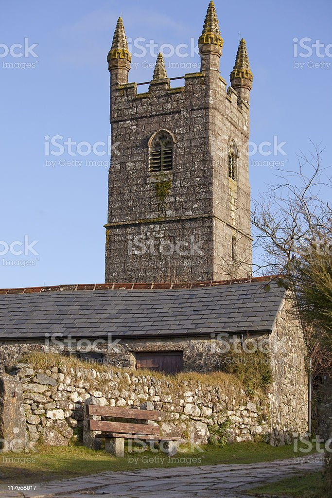 English country church royalty-free stock photo