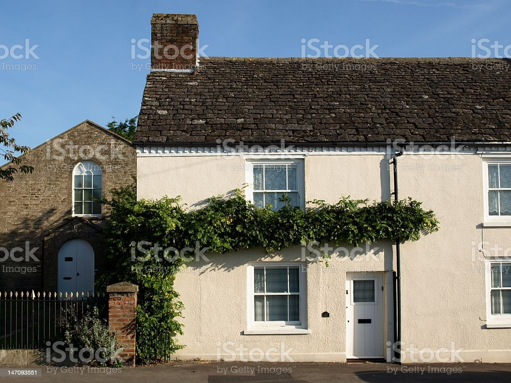 English Country Cottage royalty-free stock photo