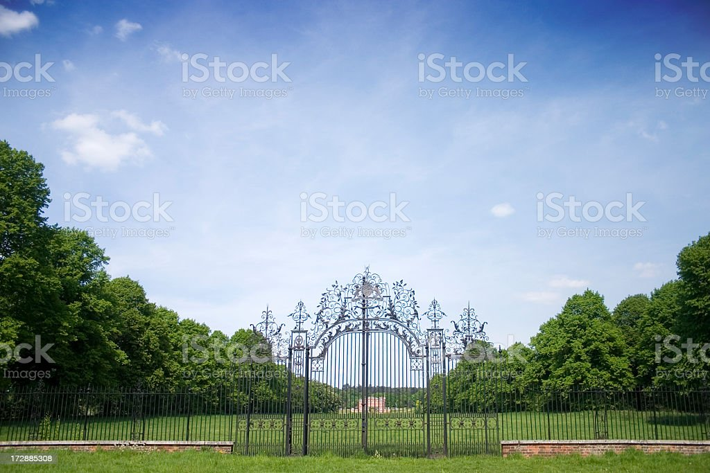 English Country Estate royalty-free stock photo