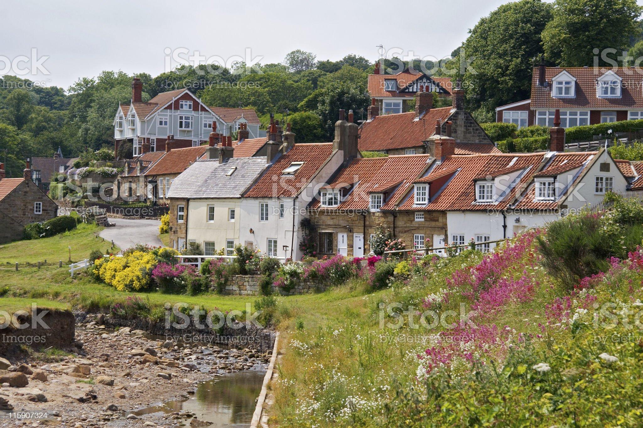 English Country Gardens royalty-free stock photo