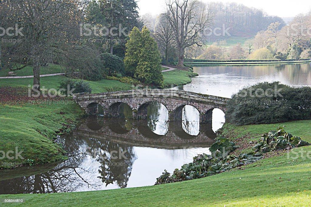 english country lake stock photo