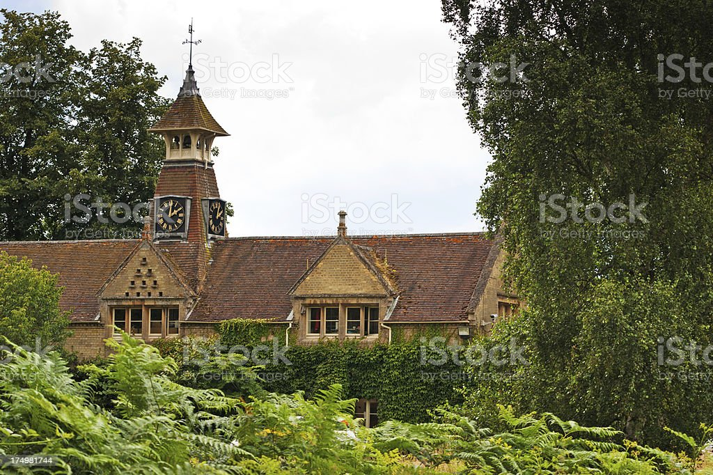 English Country manor stock photo