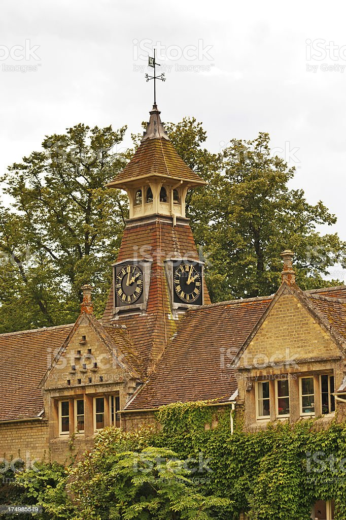 English Country manor royalty-free stock photo
