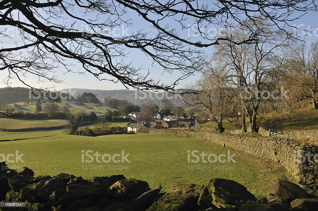 English countryside. stock photo