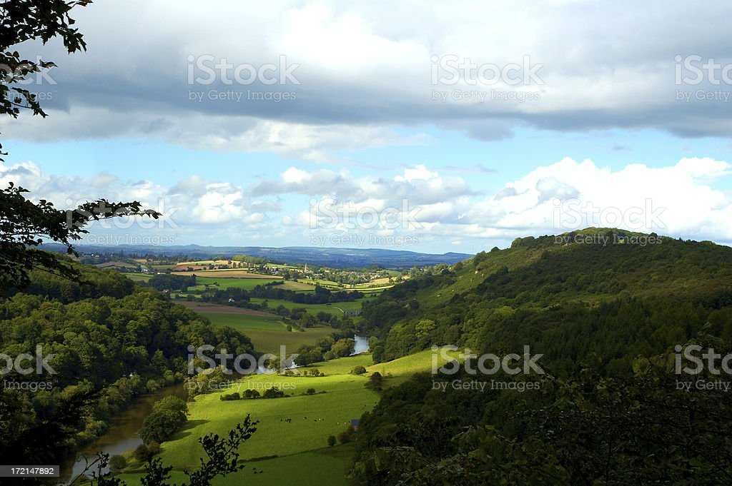 English Coutryside royalty-free stock photo
