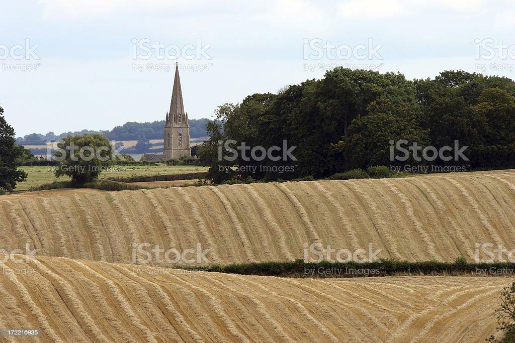 English farm royalty-free stock photo
