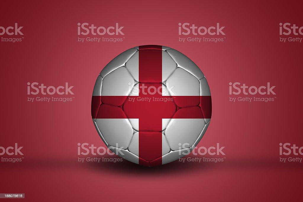 English Flag Football royalty-free stock photo