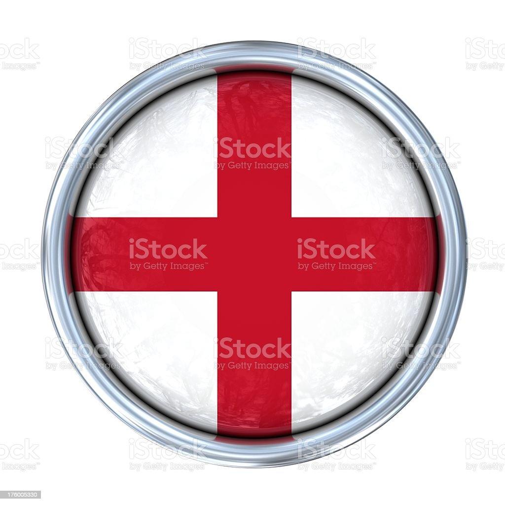 english flag on button royalty-free stock photo