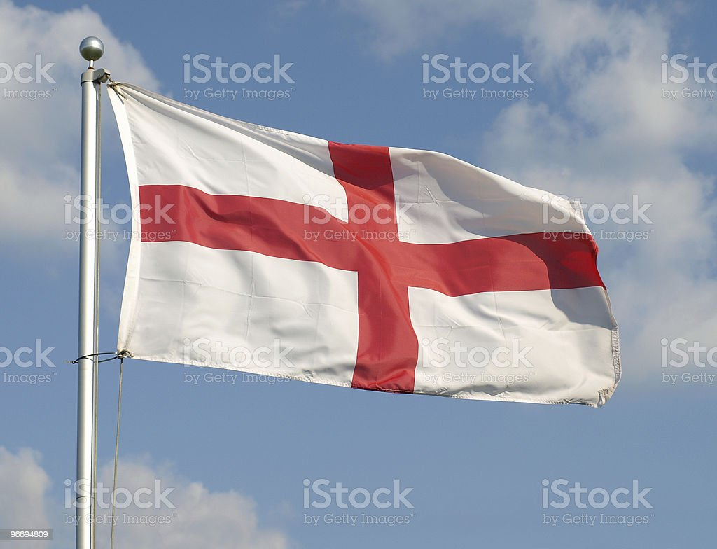 English Flag royalty-free stock photo
