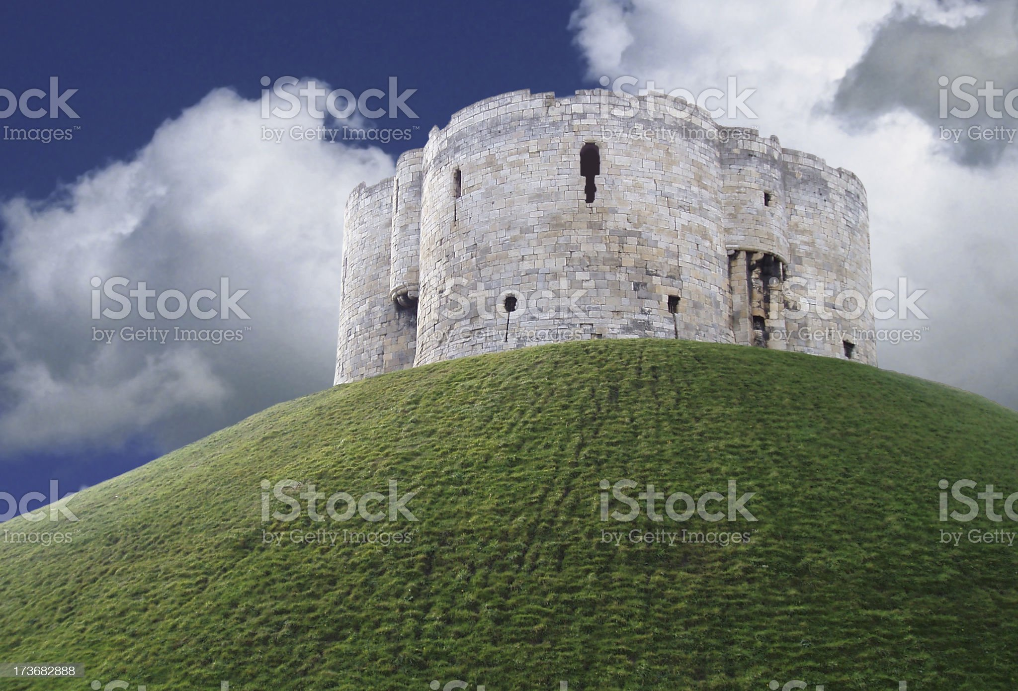 English Fort royalty-free stock photo