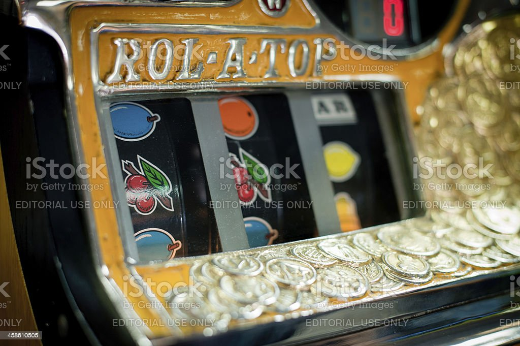 English Fruit Machine royalty-free stock photo