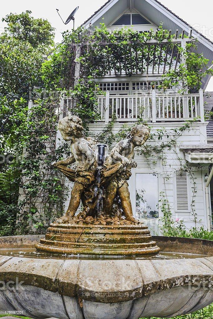 English garden royalty-free stock photo