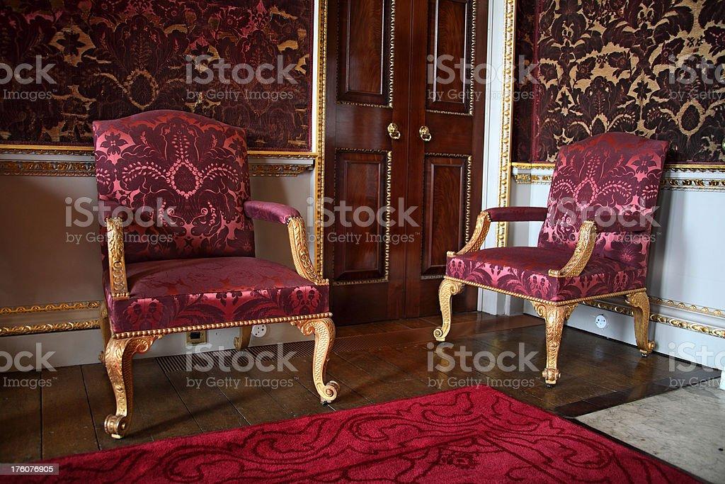 English Georgian Home Interior stock photo