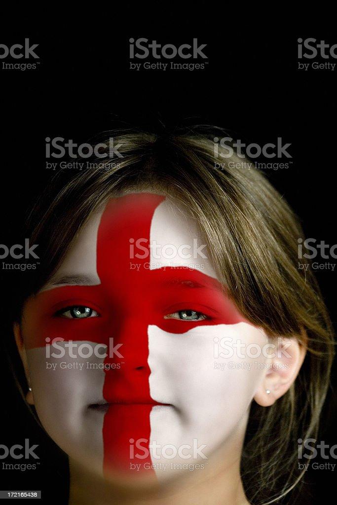 English Girl stock photo