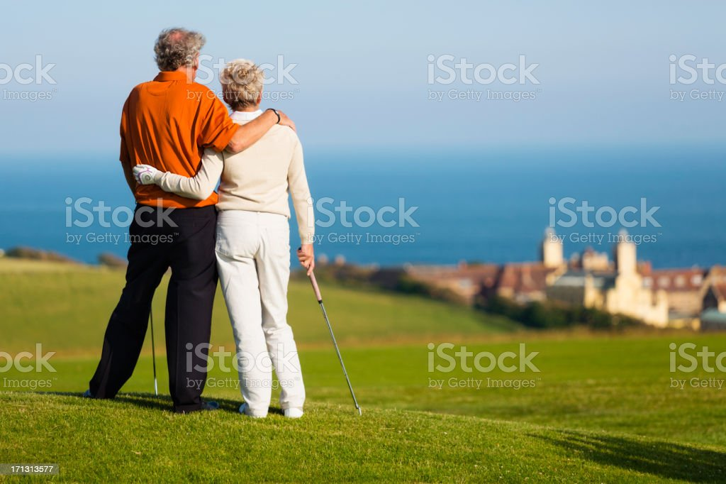 English Golfers royalty-free stock photo