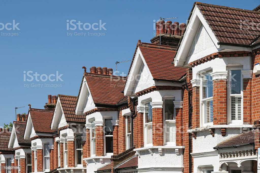 English Homes royalty-free stock photo