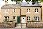 English Houses in Chipping Campden, Cotswold, England, United Kingdom.