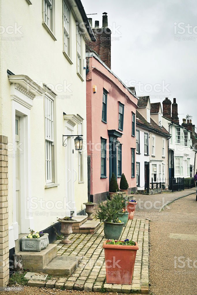 English houses royalty-free stock photo