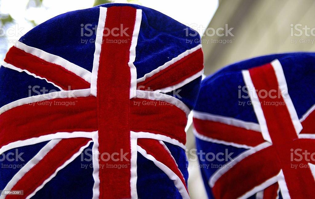 English Hut stock photo