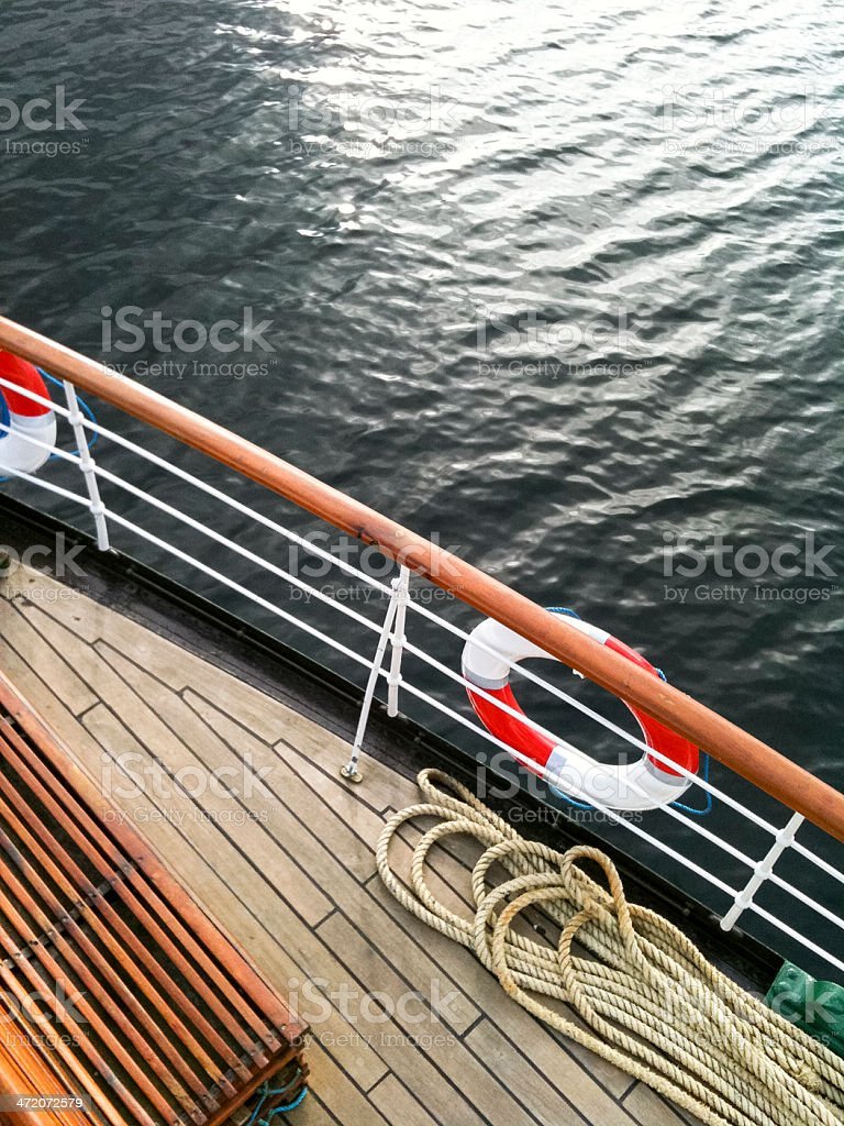 English Lake District: ferry on Windermere royalty-free stock photo