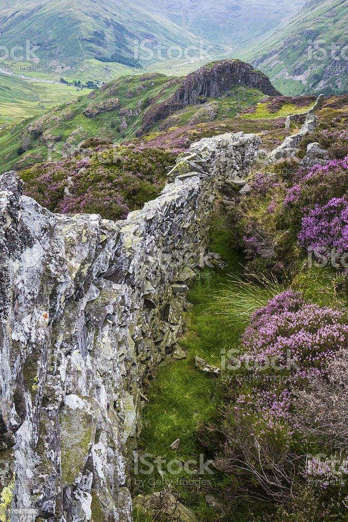 English Lake District: Great Langdale royalty-free stock photo