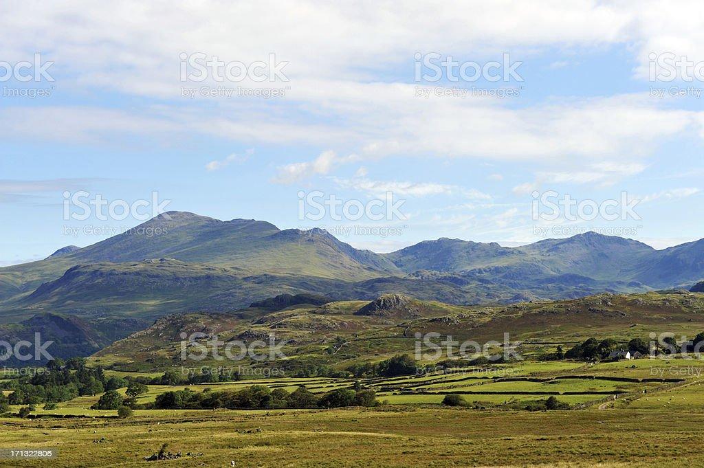 English Lake District stock photo