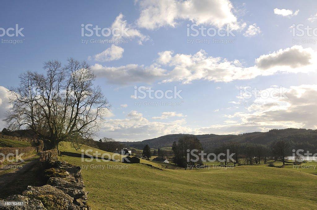 English Lakes. stock photo
