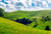 English landscape in the Peak district