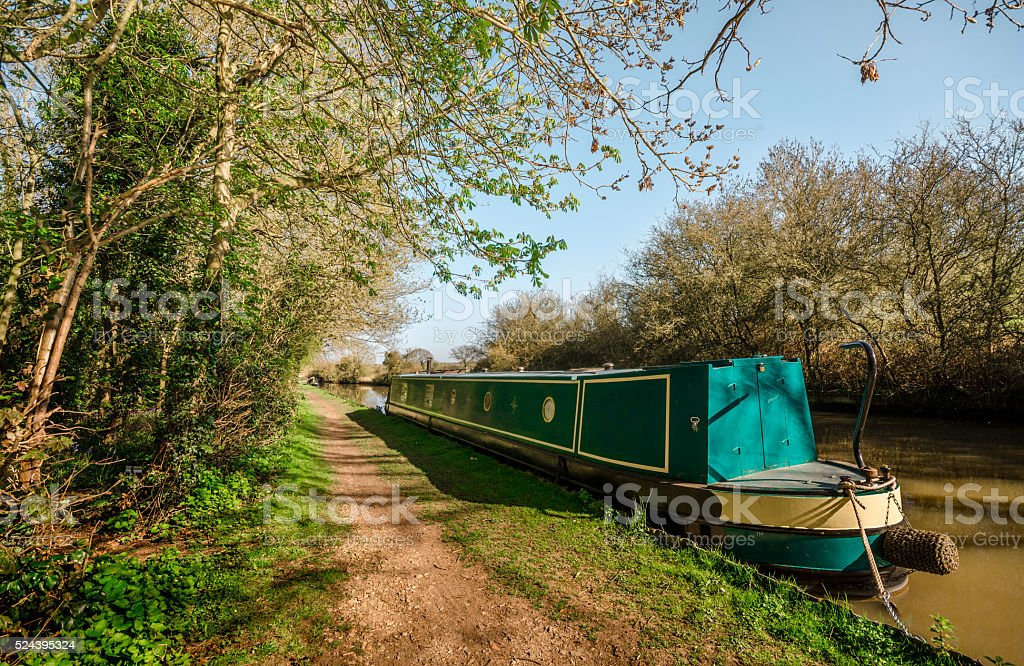 English Landscapes - Grand Union Canal stock photo
