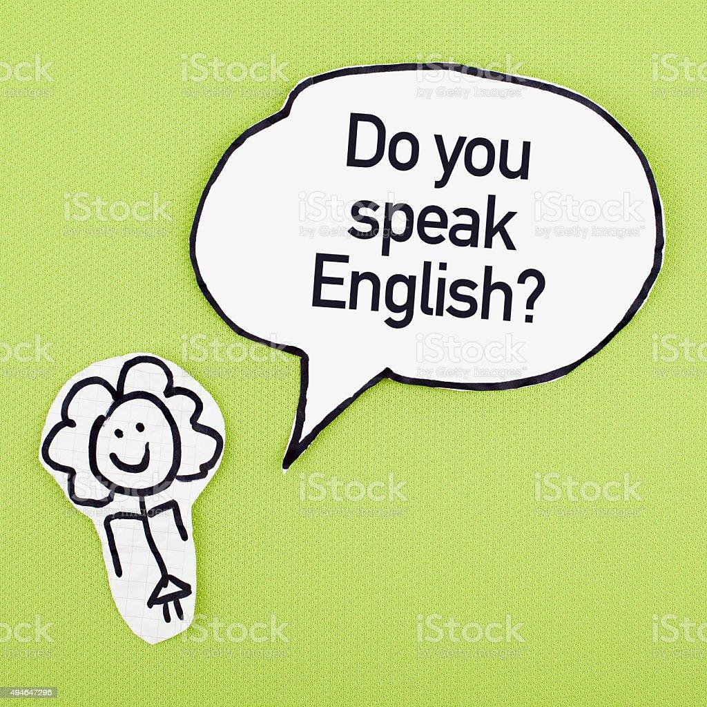 English Language Education stock photo
