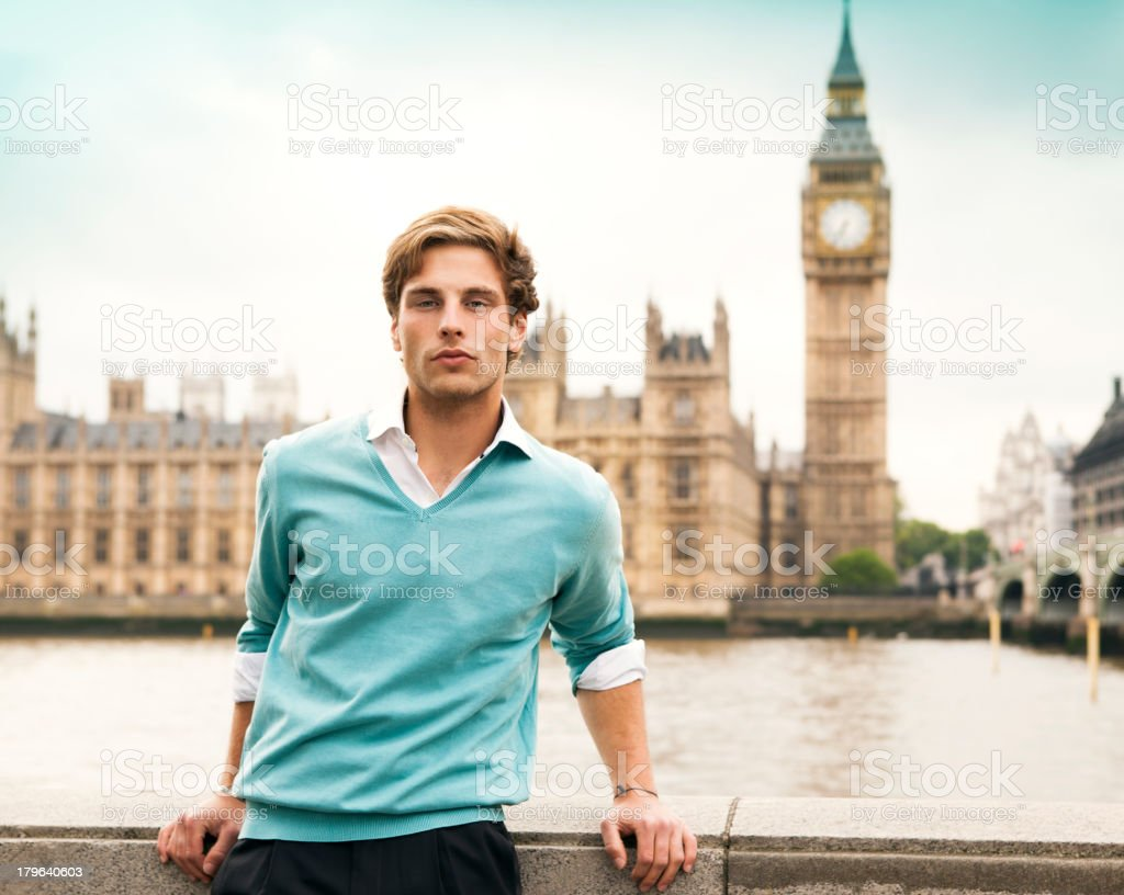 English Man in London stock photo