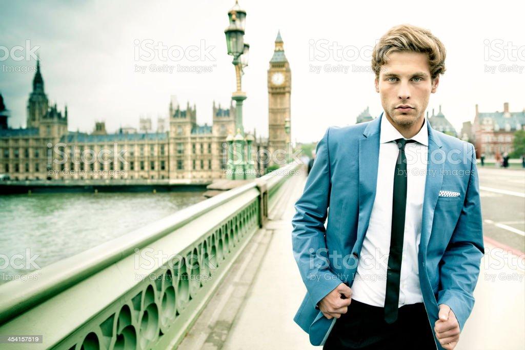 English Man in London stock photo