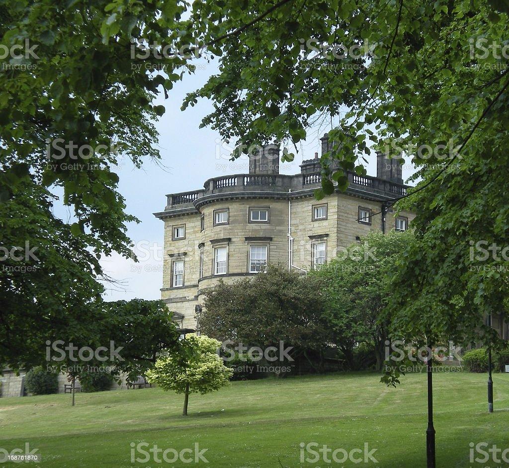 English Mansion stock photo
