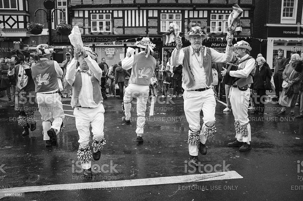English Morris Dance stock photo