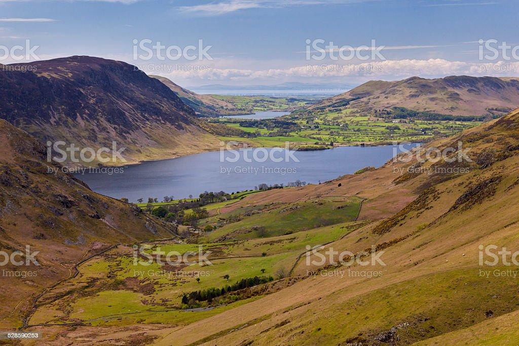 English Mountain, Lake District stock photo