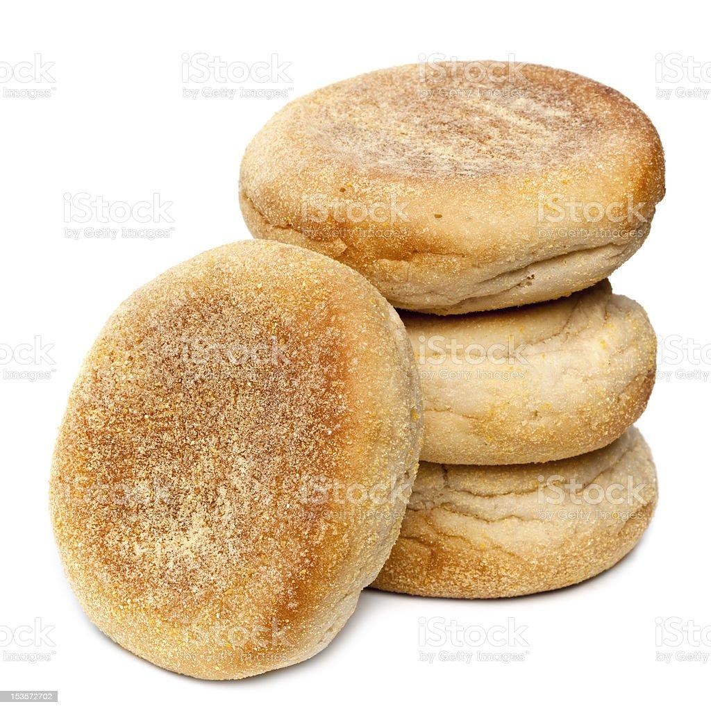 English Muffins stock photo