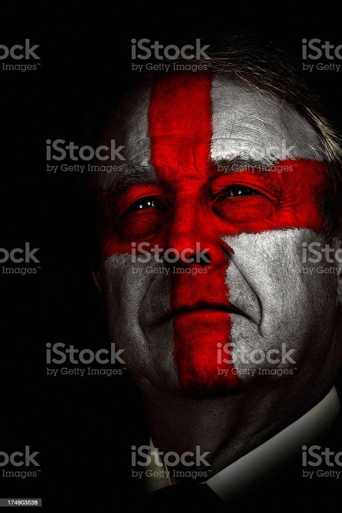 English Patriot royalty-free stock photo