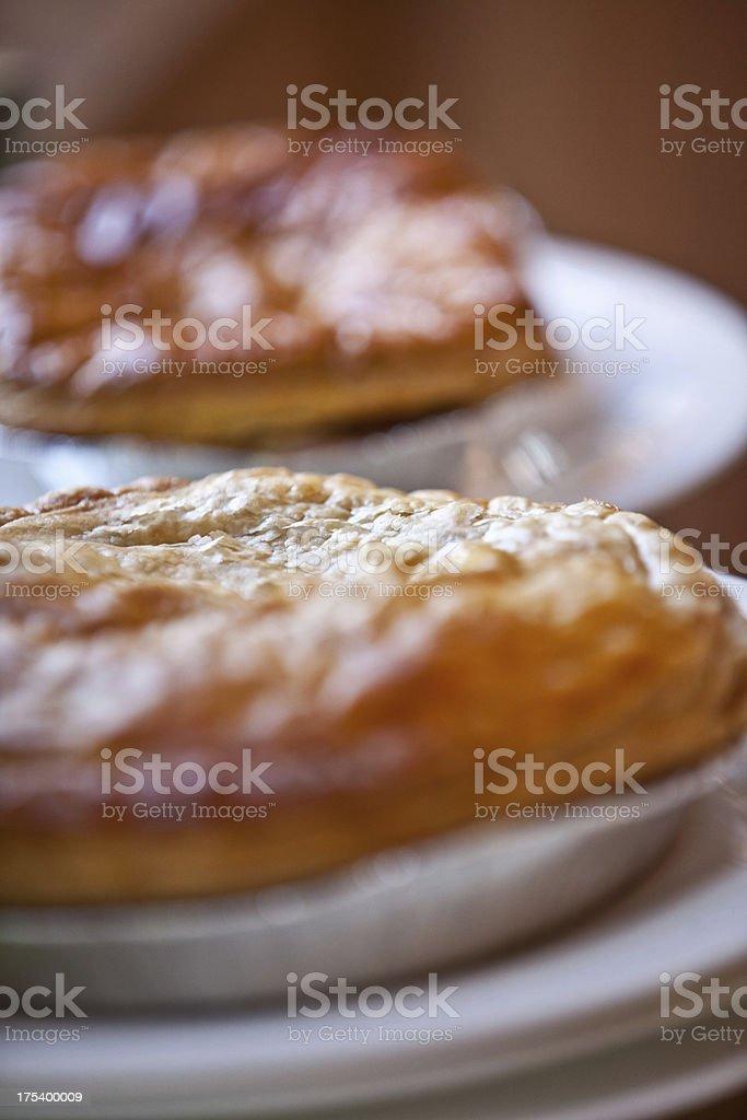 English Pie stock photo
