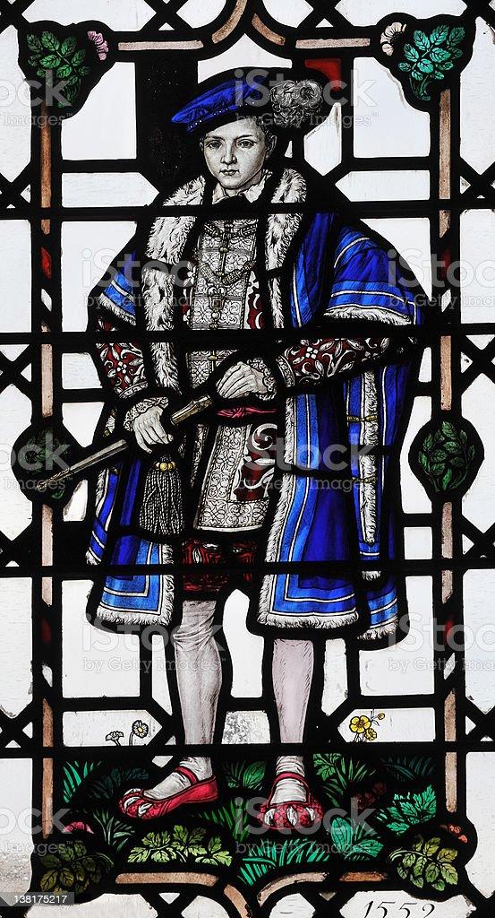 English Prince stock photo