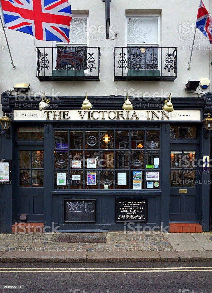 English Pub in London stock photo