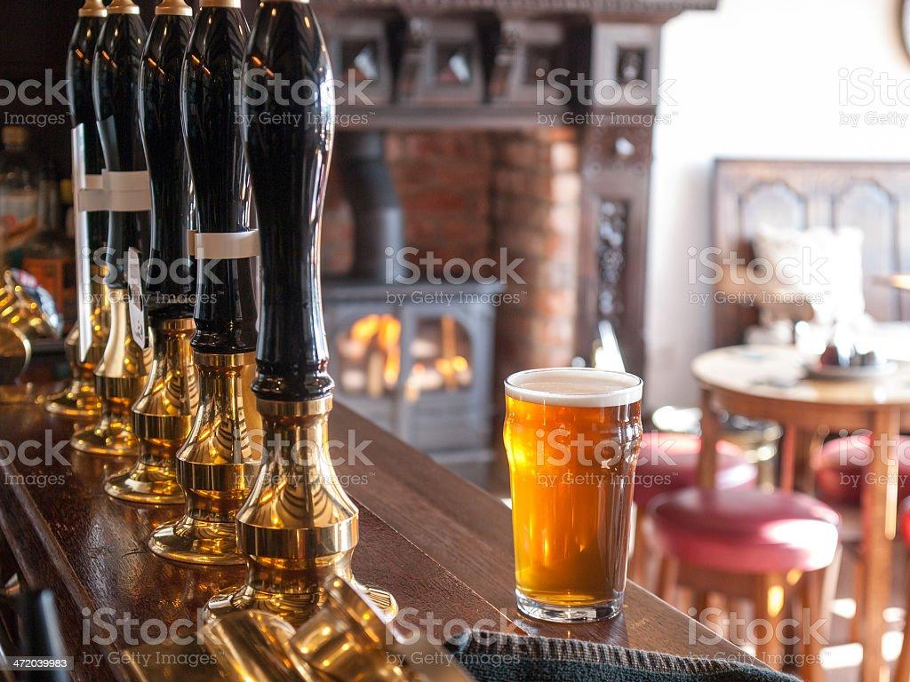 English pub stock photo
