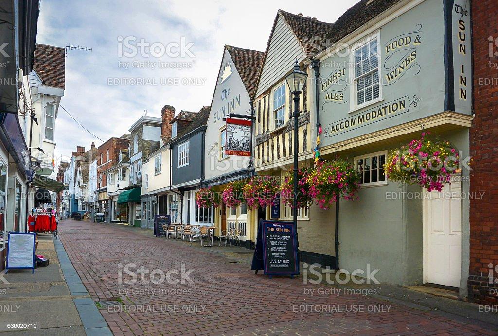English Public House stock photo