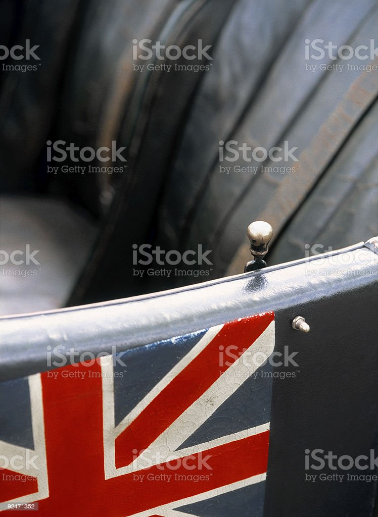 English Race Car royalty-free stock photo