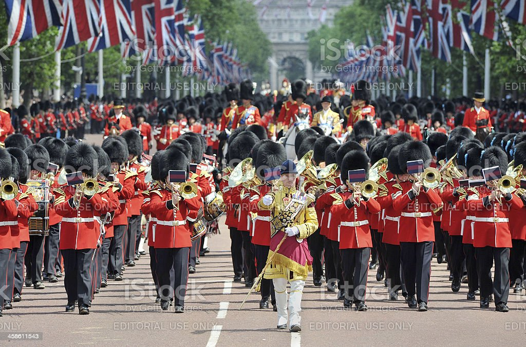 English Royal Ceremony stock photo