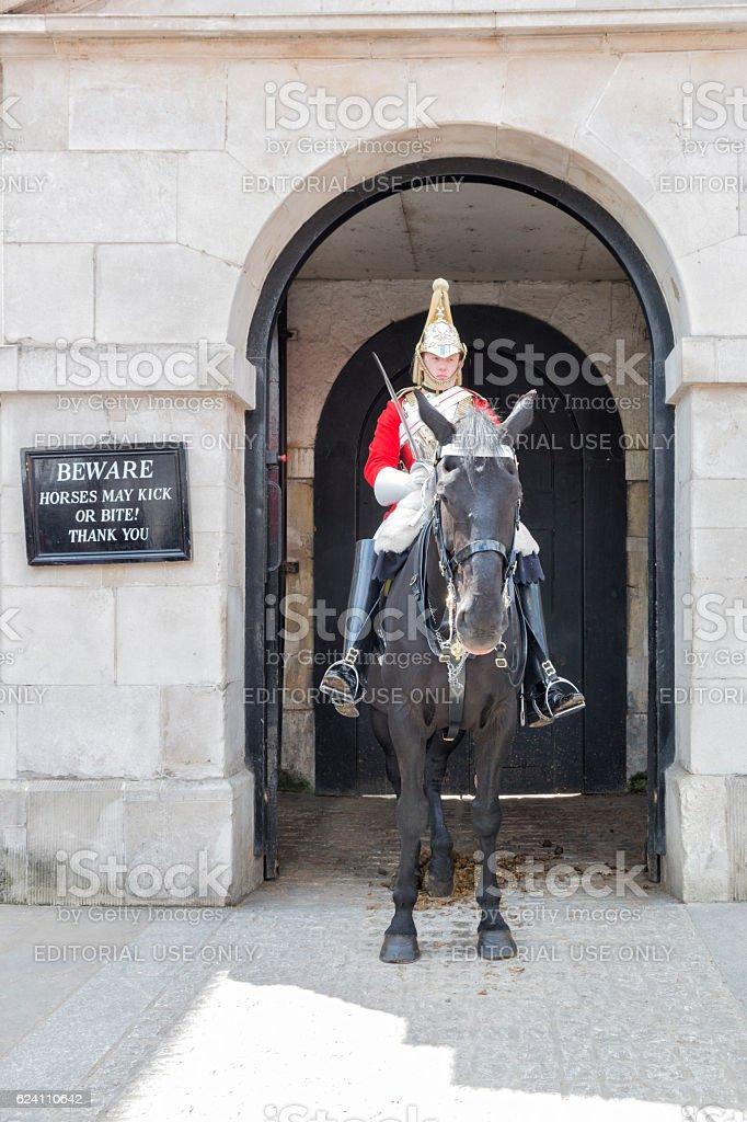 English Royal Guard stock photo