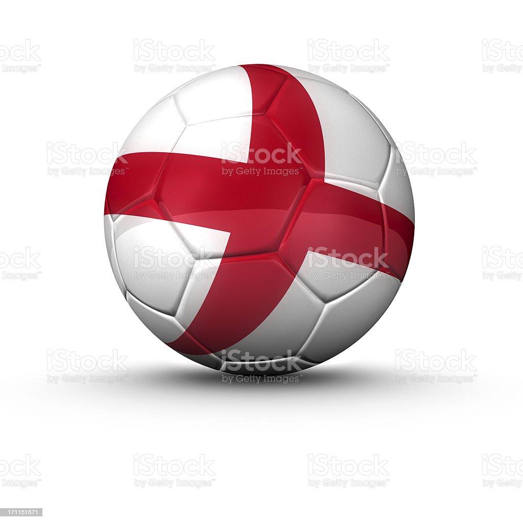 english soccer ball royalty-free stock photo