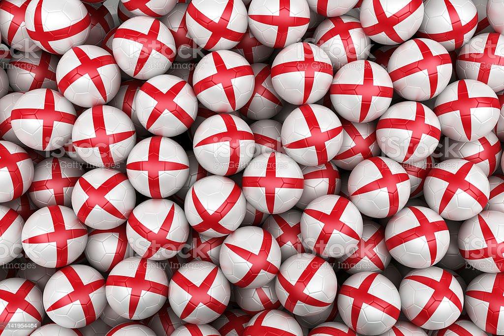 English  Soccer balls royalty-free stock photo